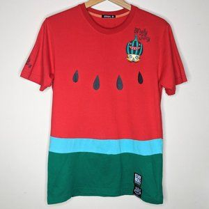 Kennyworks Stay Real watermelon Jolly Molly shirt